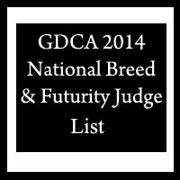 GDCA 2014 National Specialty Judges