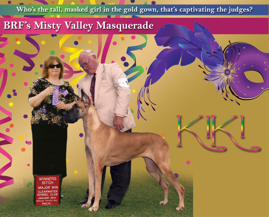 "September Feature – BRF's Misty Valley Masquerade ""KiKi"""